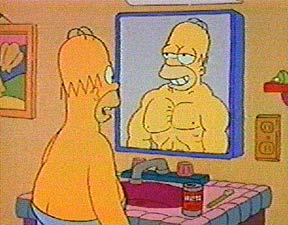 mišići iz ogledala