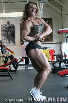 Heather Armbrust - tri tjedna do natjecanja Ms. Olympia