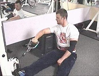 L podizanja za vanjske okretače ramena