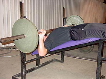 KONTRAKOSI BENCH PRESS