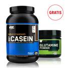 Gold Standard Casein 908g + Glutamine 630g GRATIS