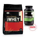 Whey Gold Standard 4,5 kg + Creatine 300 g GRATIS