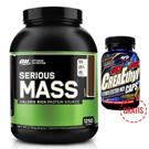 Serious Mass 2,7kg + CreaEthyl 120 kapsula GRATIS