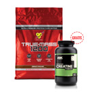 True Mass 1200 4,8 kg + Creatine 300 g GRATIS
