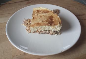 Jednostavni proteinski cheescake