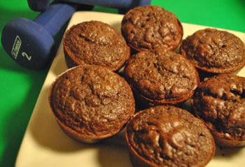 Čokoladni proteinski muffini