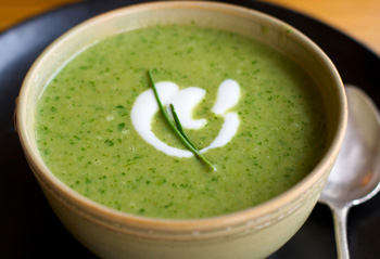 Fit gusta zelena juha