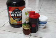 PWM - zobene sa maslacem i whey proteinom