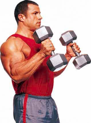 Kako trenirati kod kuće - Biceps