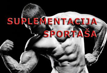 Suplementi aktivnih sportaša
