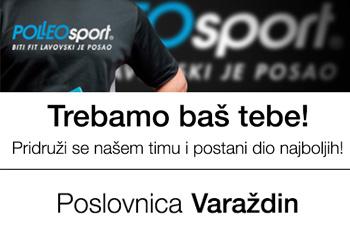 NATJEČAJ ZA POSAO! Polleo sport-Varaždin
