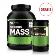 Serious Mass 2,7kg + Creatine 600g GRATIS