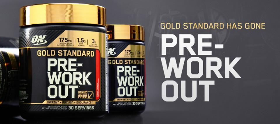 Gold Standard Pre-Workout