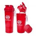 SmartShake Slim, Neon Red - 500 ml