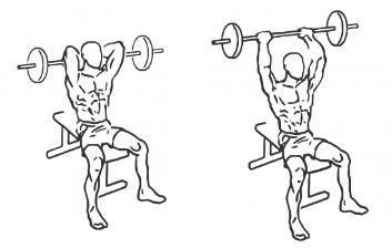 triceps potisak iznad glave