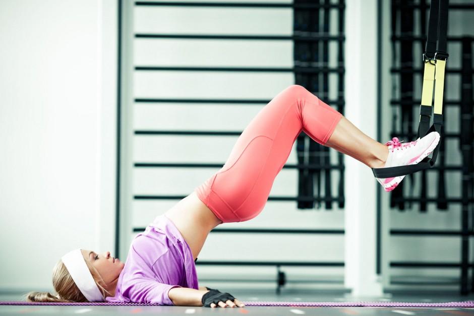 Vježbanje žene