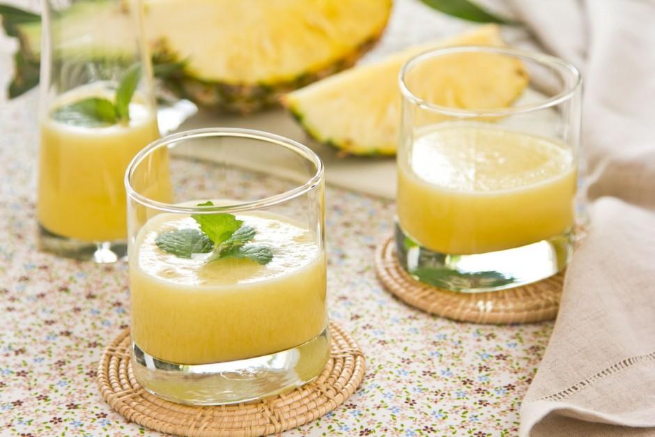 Ananas grejp smoothie