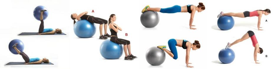 Pilates lopta