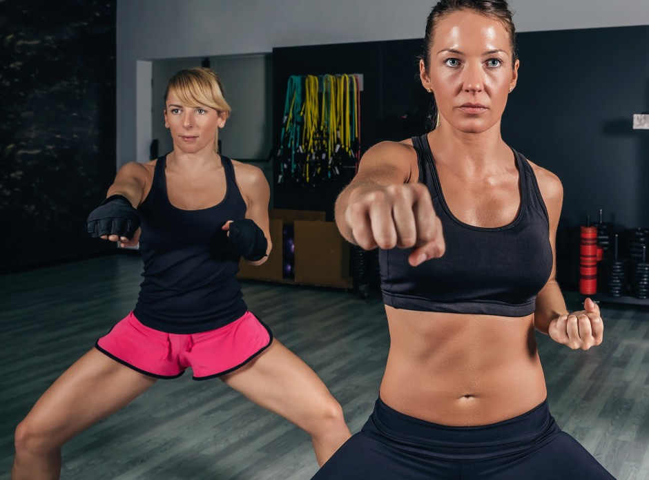 trening na boksačkoj vreći