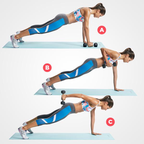 plank za žene