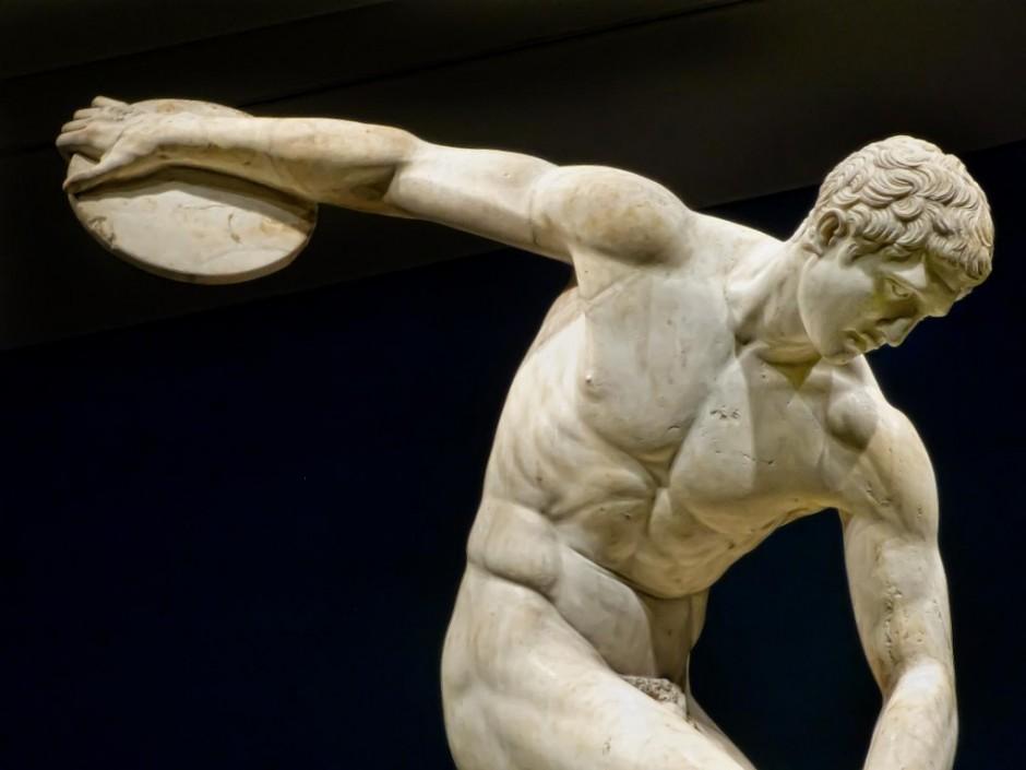 počeci bodybuildinga - grčka