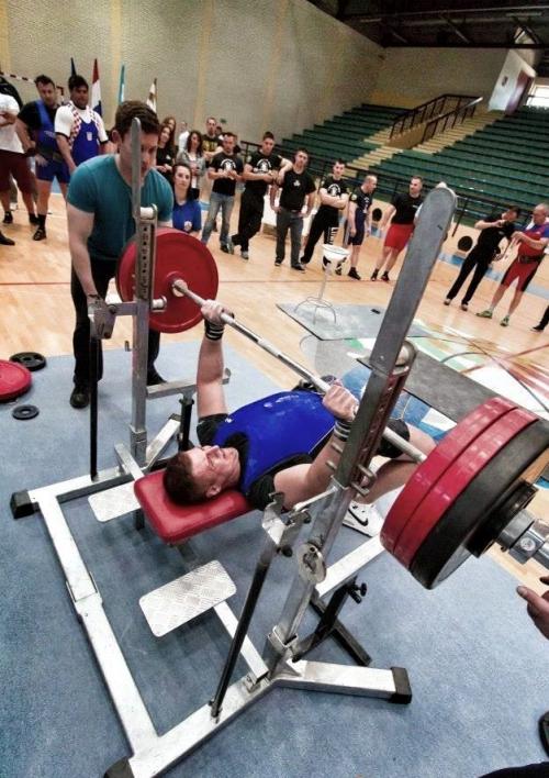 svjetski rekord u bench pressu
