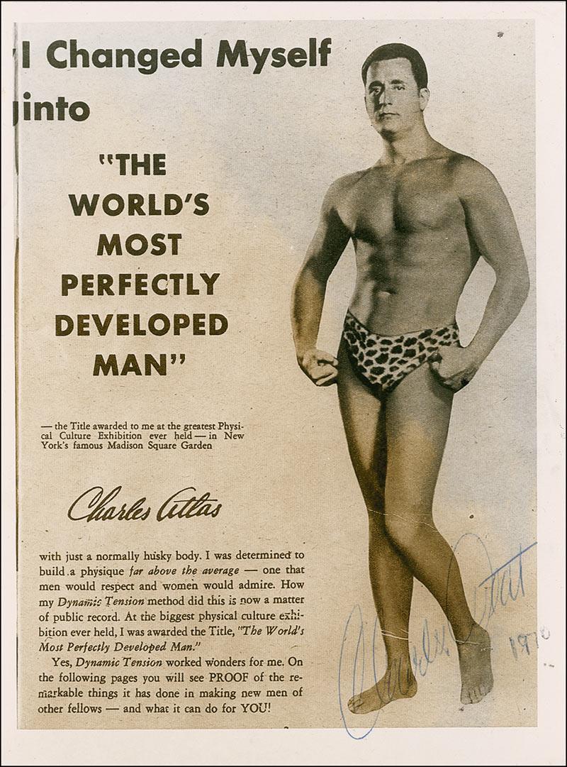 Charles Atlas - legenda modernog bodybuildinga
