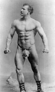 Eugen Sandow bodybuilder