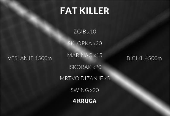 fat killer trening