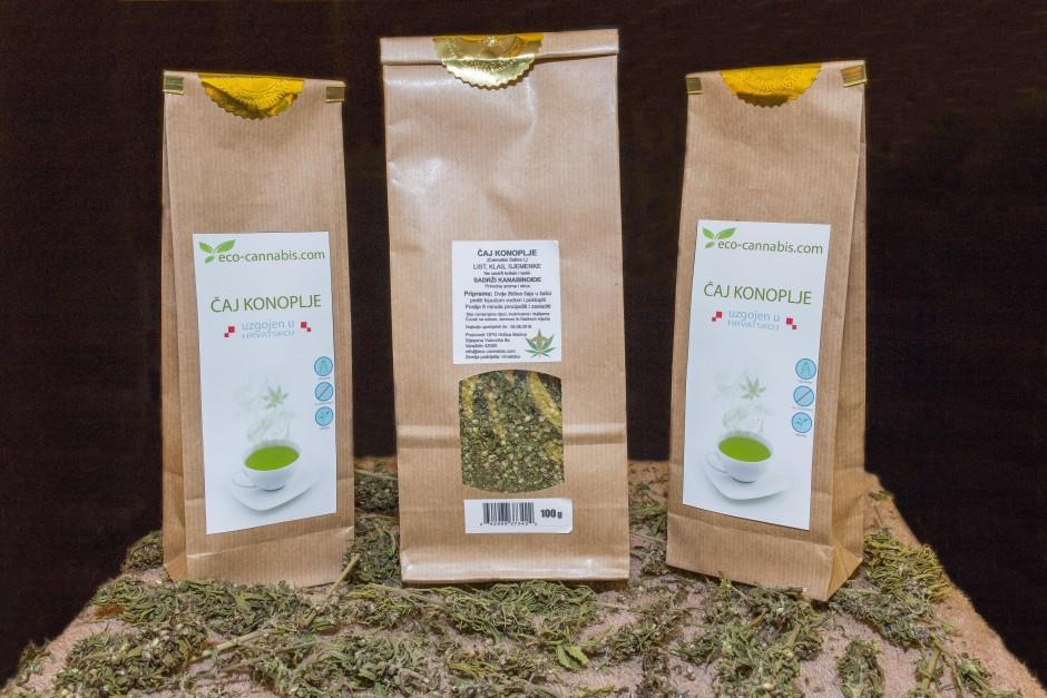 eco cannabis - čaj od konoplje