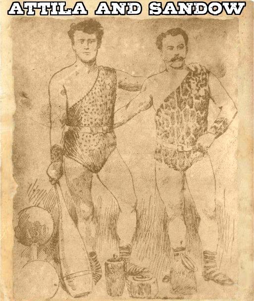 Ludwiga Durlachera i Eugen Sandow bodybuilder