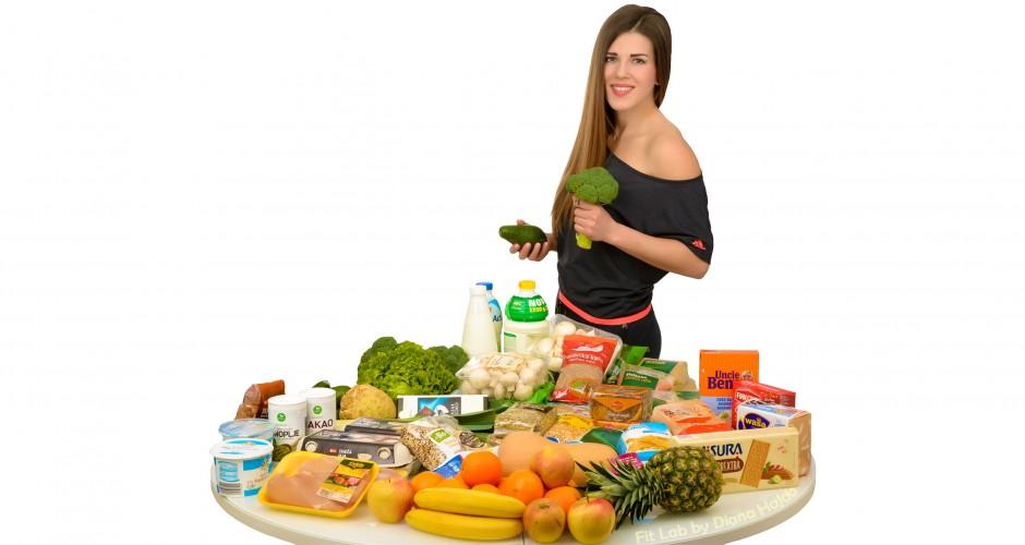 Diana Hajdo, prehrana