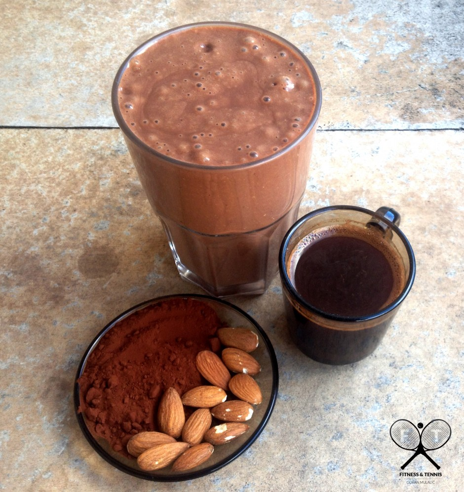 5.COFFEE PROTEIN SMOOTHIE