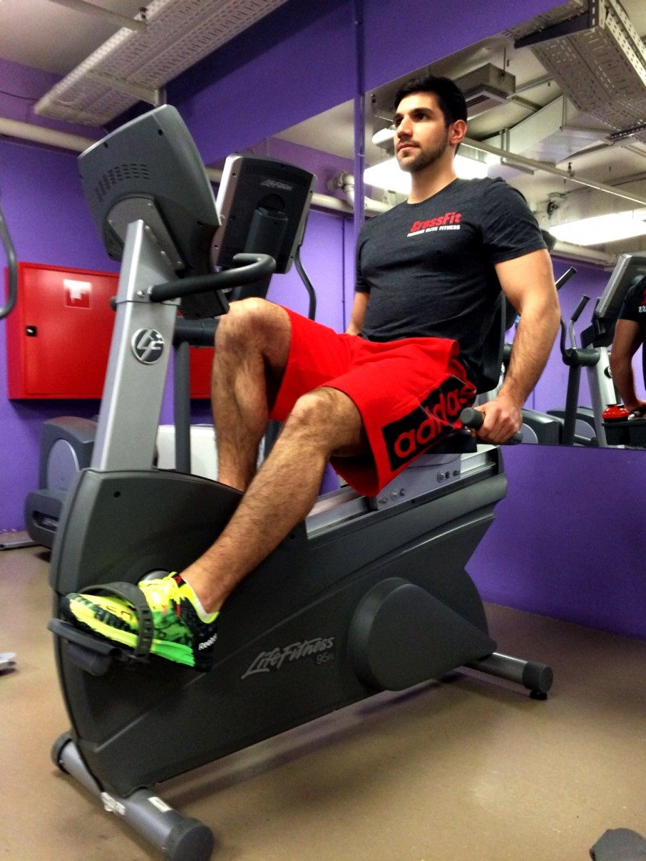 Kardio trening na sobnom biciklu