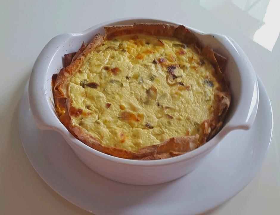 quiche od jaja, povrća i posnog sira2