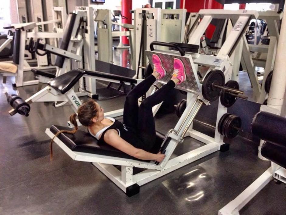 vježbe za noge, ema brajić (3) potisak