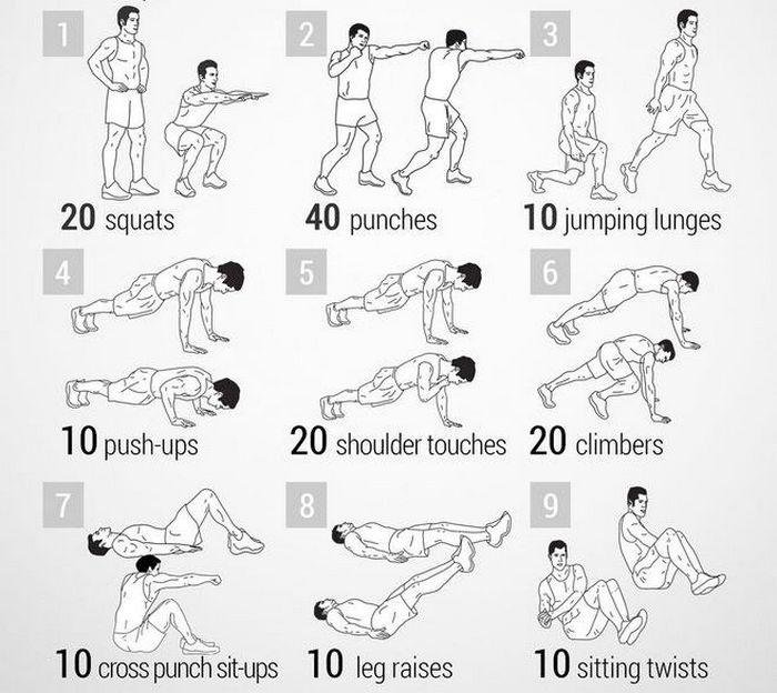 9 vježbi za trbušnjake i noge