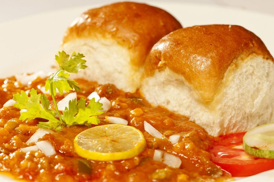 Pav Bhaji varivo od curryja