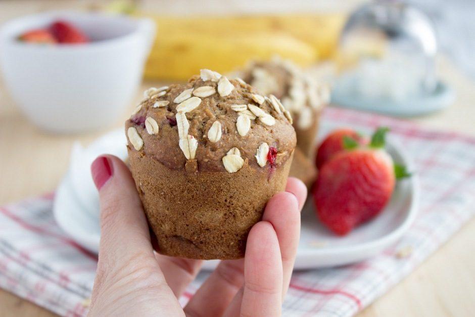 Banana muffini s jagodama