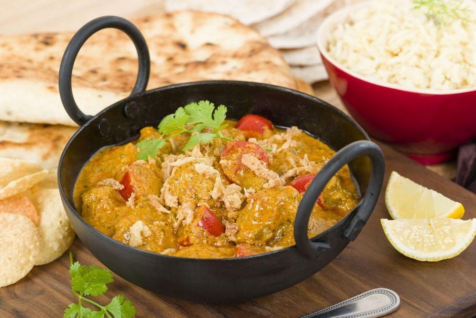 kadai curry umak s rižom