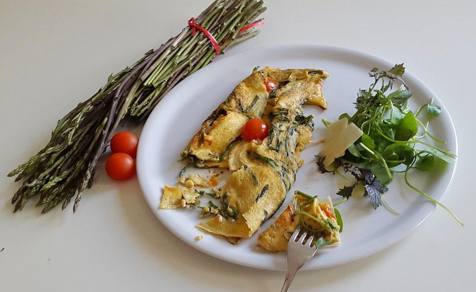 omlet od sparoga