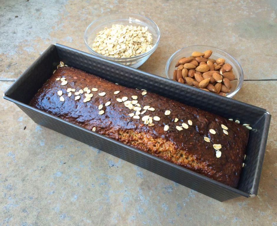 proteinski kolač od zobenih, cimeta i meda2