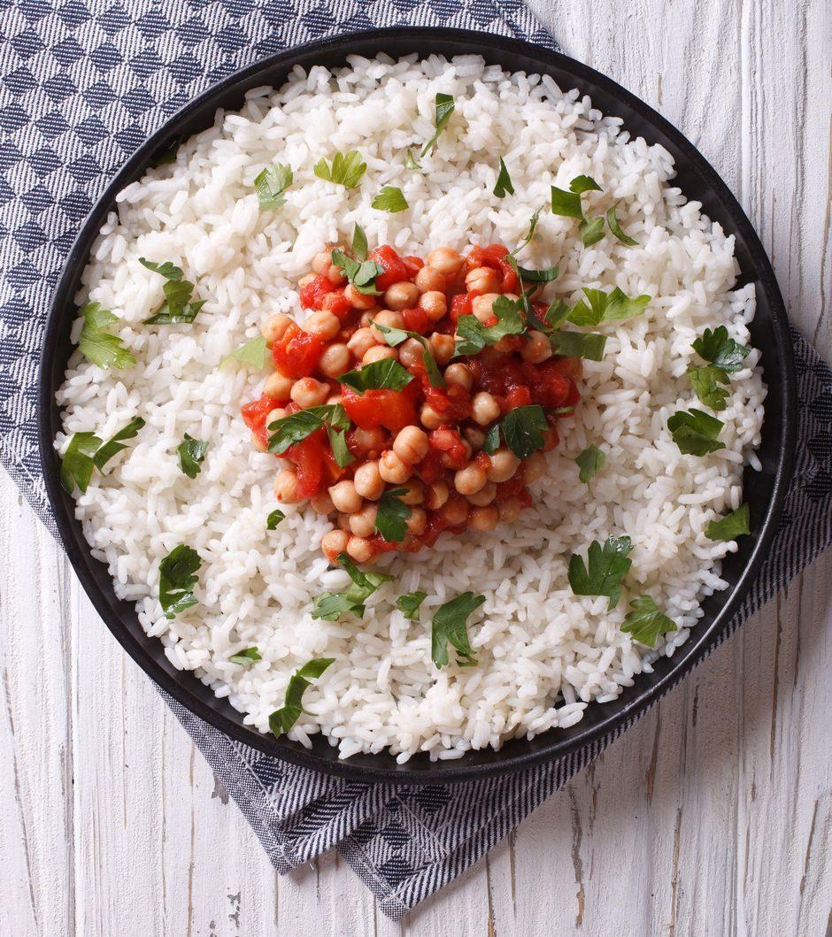 slanutak s rižom