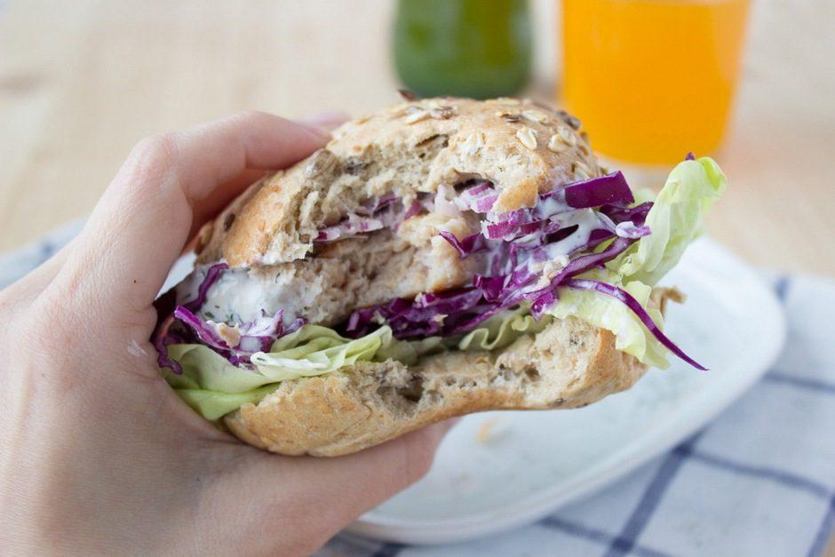 zdravi burger od puretine