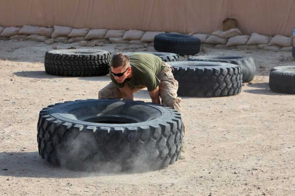 Bilateral training exercise